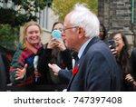 bernie sanders  vermont senator ... | Shutterstock . vector #747397408