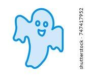 boo icon | Shutterstock .eps vector #747417952