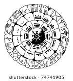 Calendario Azteca Vectores.Calendario Azteca Gratis Vector 978 Descargas Gratis