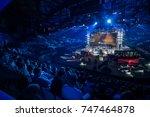 saint petersburg  russia  ... | Shutterstock . vector #747464878