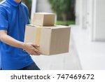 advertising  business ... | Shutterstock . vector #747469672