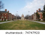 rush rhees library in... | Shutterstock . vector #74747923