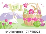 Easter Illustration With...