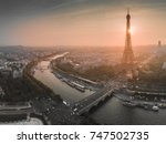 paris | Shutterstock . vector #747502735
