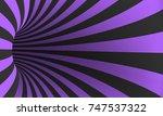 illustration of spiral optical...   Shutterstock . vector #747537322