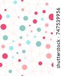 technology lines seamless... | Shutterstock .eps vector #747539956