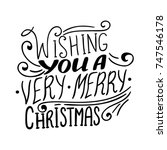 wishing you a very... | Shutterstock .eps vector #747546178