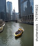 editorial  chicago il  april 26.... | Shutterstock . vector #747595822