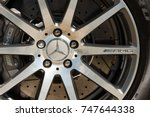 laverstoke  uk   august 25 ... | Shutterstock . vector #747644338
