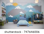 Boy Bedroom With A Beautiful...