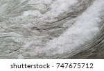 weathered grey driftwood...   Shutterstock . vector #747675712