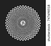 vector seven primary crown...   Shutterstock .eps vector #747698518