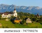 the church from magura village  ...   Shutterstock . vector #747700276