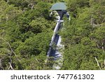 over look path | Shutterstock . vector #747761302
