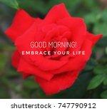 motivational and inspirational... | Shutterstock . vector #747790912