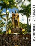 King Kamehameha. Hawaii  Big...