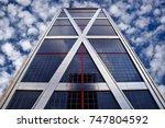 madrid  spain   november 2 ... | Shutterstock . vector #747804592