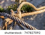 Rusty Steel Cable With Corrode...