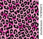 animal skin pattern | Shutterstock .eps vector #747896872