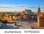 aerial view of the old city in... | Shutterstock . vector #747902032