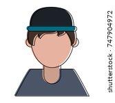 man faceless avatar | Shutterstock .eps vector #747904972