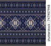 element for design in eastern... | Shutterstock .eps vector #747907948