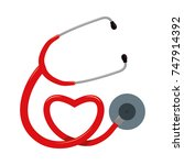 figure medical stethoscope to...   Shutterstock .eps vector #747914392