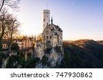 schloss lichtenstein castle... | Shutterstock . vector #747930862