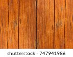 bright wood texture with cracks | Shutterstock . vector #747941986