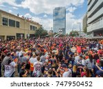 houston  texas   nov 3rd 2017   ... | Shutterstock . vector #747950452