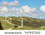 wind farm  | Shutterstock . vector #747957202