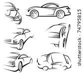 cars | Shutterstock .eps vector #74795815