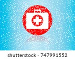 first aid vector  first aid... | Shutterstock .eps vector #747991552