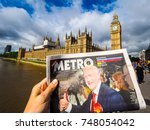 london  uk   june 09  2017 ... | Shutterstock . vector #748054042
