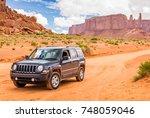 monument valley  utah  usa  ... | Shutterstock . vector #748059046