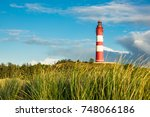 Lighthouse In Wittduen On The...