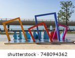 xiamen  china   oct 25  2017 ... | Shutterstock . vector #748094362