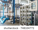 reverse osmosis system for... | Shutterstock . vector #748104772