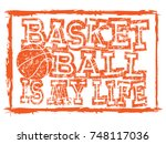 vector illustration orange... | Shutterstock .eps vector #748117036