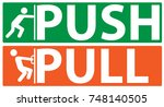 Push And Pull Icon  Vector ...