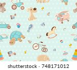 vector illustration of a... | Shutterstock .eps vector #748171012