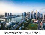 singapore   august 21  2017... | Shutterstock . vector #748177558