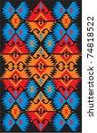 ethnic ornaments | Shutterstock .eps vector #74818522