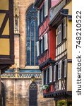 Small photo of Old city of Colmar, the capital of Alsatian wine, Haut-Rhin, France