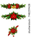 christmas elements for your... | Shutterstock .eps vector #748259428