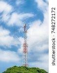 cellular phone antennas area...   Shutterstock . vector #748272172
