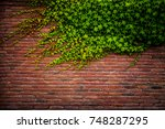Old Red Brick Wall Texture And...