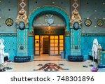 budapest  hungary   november 4  ...   Shutterstock . vector #748301896