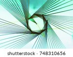 colorful lines abstract... | Shutterstock . vector #748310656
