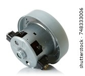 washing machine spare parts on... | Shutterstock . vector #748333006